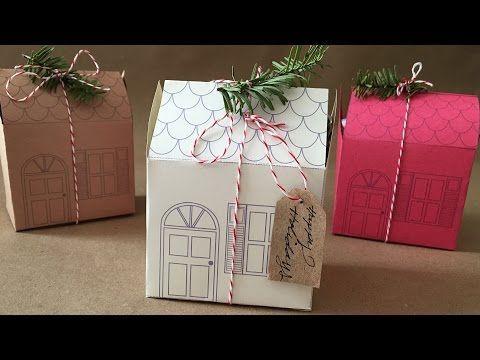 Holiday Mini House Gift Box DIY | FashionClub.com – FIDM Fashion Club® Official Site