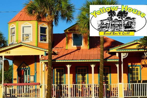 Yellow House Beach Bar Grill Vacation Guide Florida Family Vacation Beach Hotels