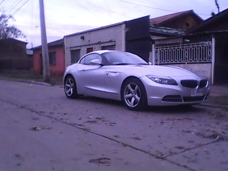 primera foto de mi nueva cuenta pinterest, el BMW Z4