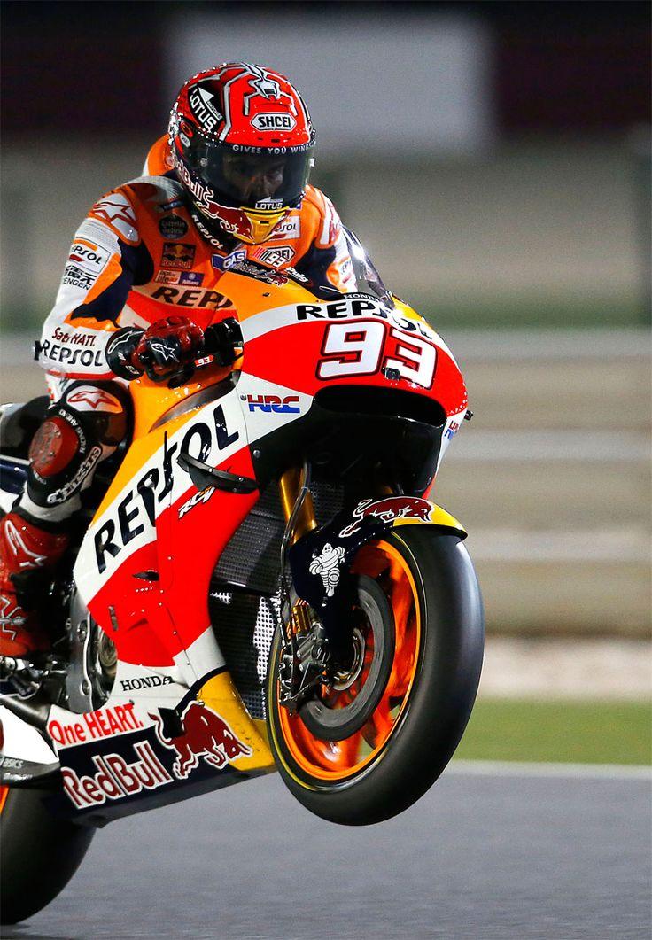 Marc Marquez. MM93. Qatar MotoGP 2016. Free Practices.