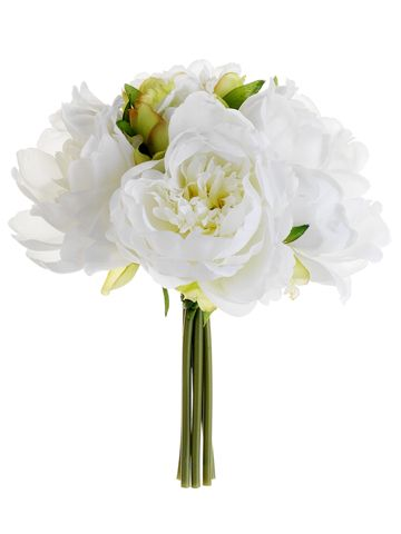 Silk Peony Bouquets | Wedding Flowers | Hassle Free Shipping -bridesmaids bouquets ?  5.99 each = not bad