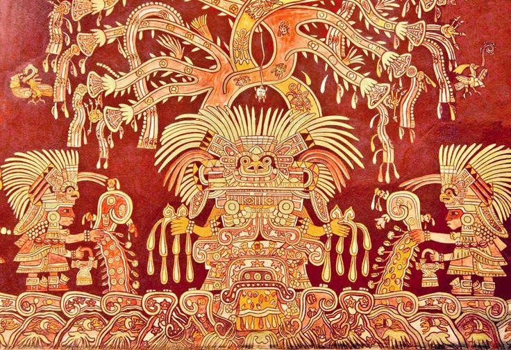 W2-0027: The Great Goddess #teotihuacan #tepantitla