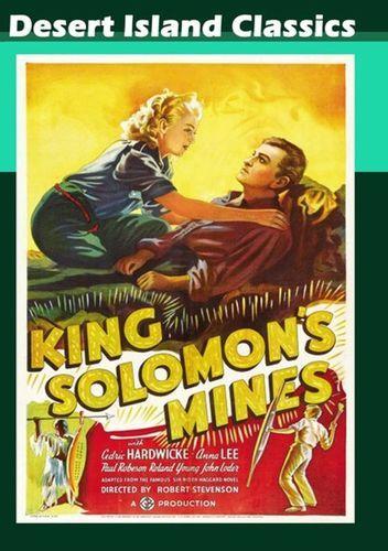 King Solomon's Mines [DVD] [English] [1937]