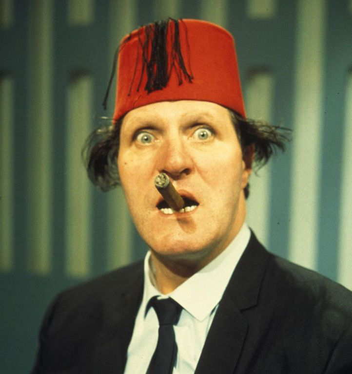 Tommy Cooper  Another comedy legend.
