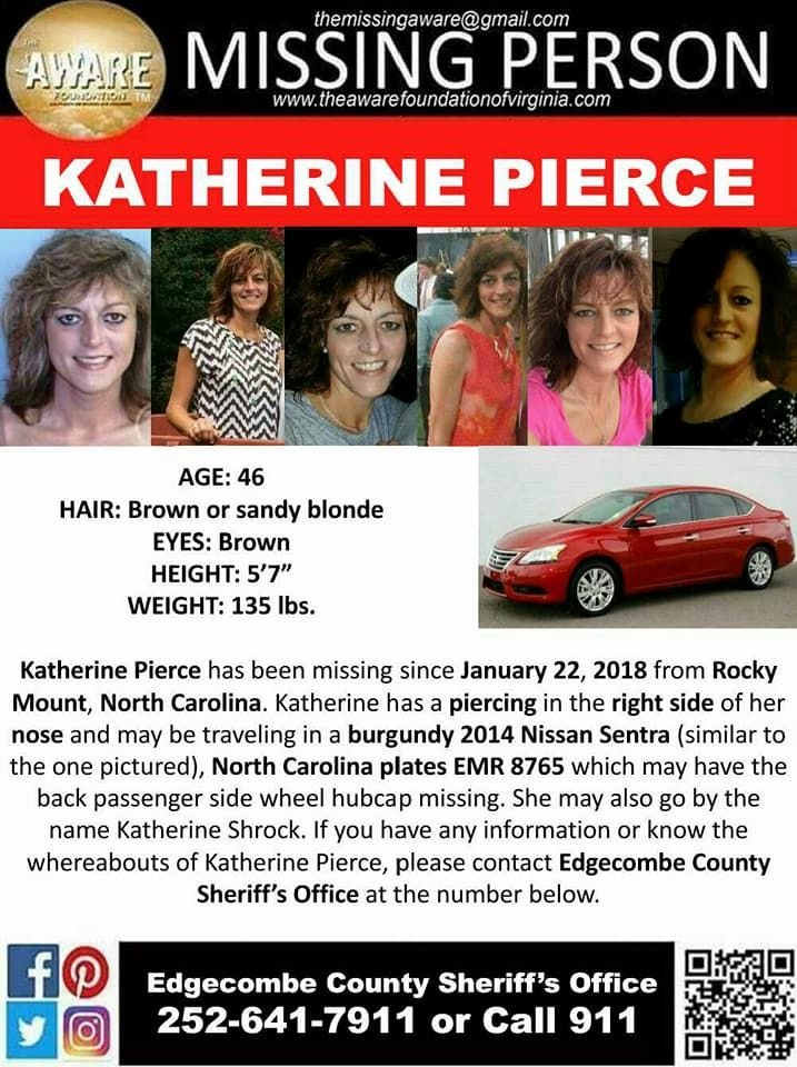 Find Missing Katherine Pierce!