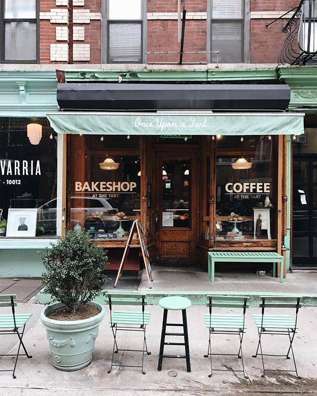 Once Upon A Tart - cafe storefront