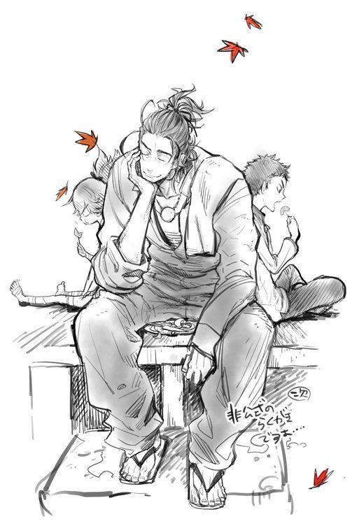 """鈴木次郎 on Twitter: """"息抜きが落書きなので手が休まらないってアレ… 秋っぽい落書きです…冬になる前に~~非公式らくがきですよ~… https://t.co/M321iih9oD"""""""