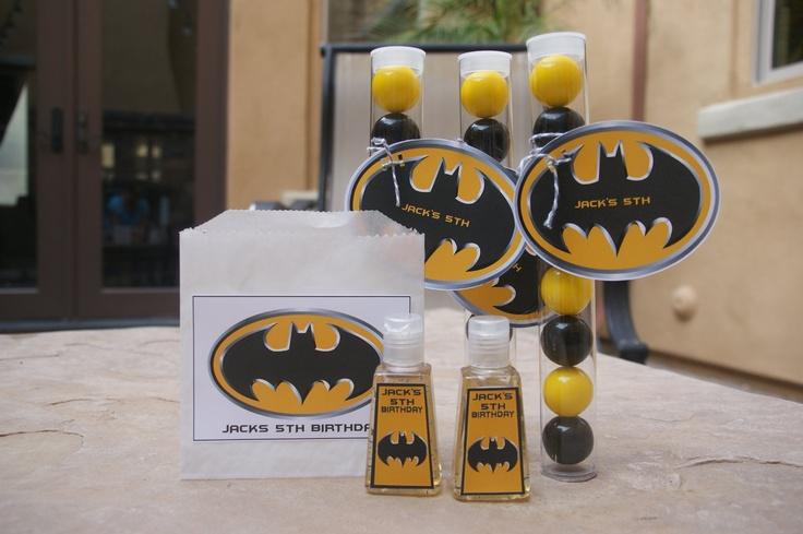 Batman Wedding Gift: Batman Party Favor (5) Batman Hand Sanitizer. $12.50, Via