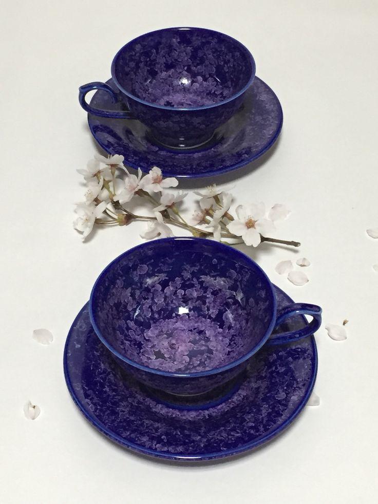 crystal glaze blue baby's breath 낮은 coffee cup 결정유 블루 안개꽃 낮은 커피잔 https://www.facebook.com/pages/ysGayayo/339056266284380