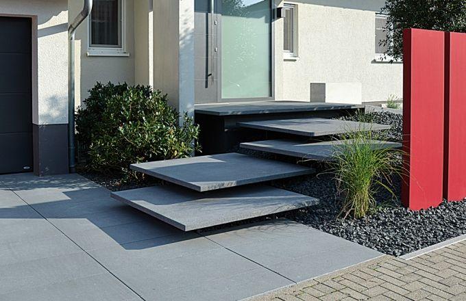 Conceo freischwebende Stufenplatten