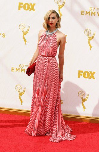 Zoe Kazan at an event for The 67th Primetime Emmy Awards (2015)