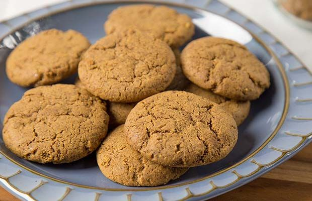Flax Ginger Cookies from our cookie jar collection