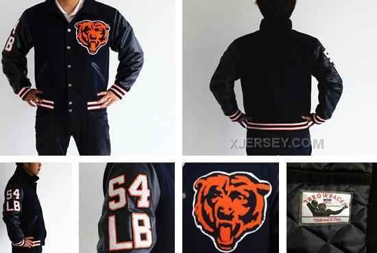 http://www.xjersey.com/2013-bears-54-urlacher-throwback-wool-jacket.html 2013 BEARS 54 URLACHER THROWBACK WOOL JACKET Only $105.00 , Free Shipping!