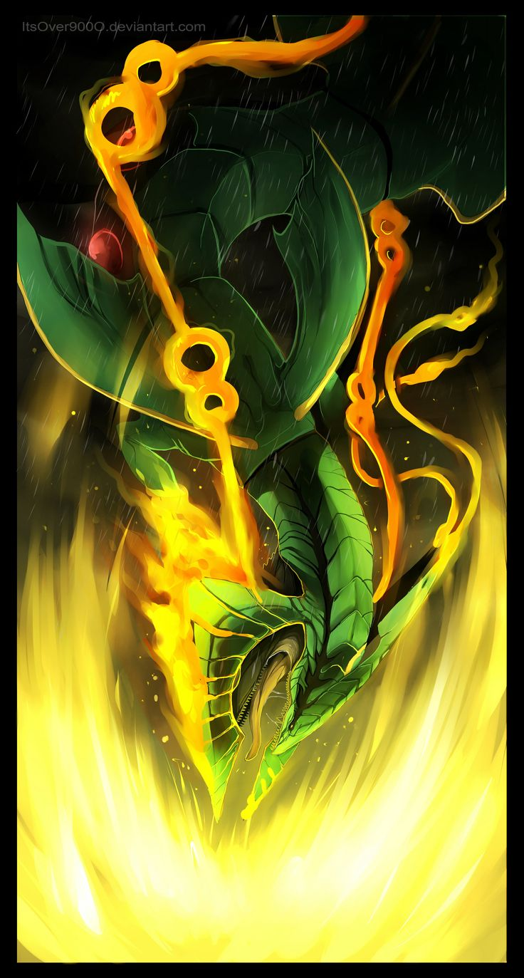 Mega Rayquaza: Dragon Ascent by ItsOver900O.deviantart.com on @deviantART
