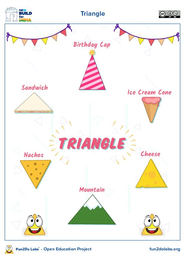 Triangle Triangles Kindergarten Triangles Activities Shapes Preschool Shape books for preschool pdf