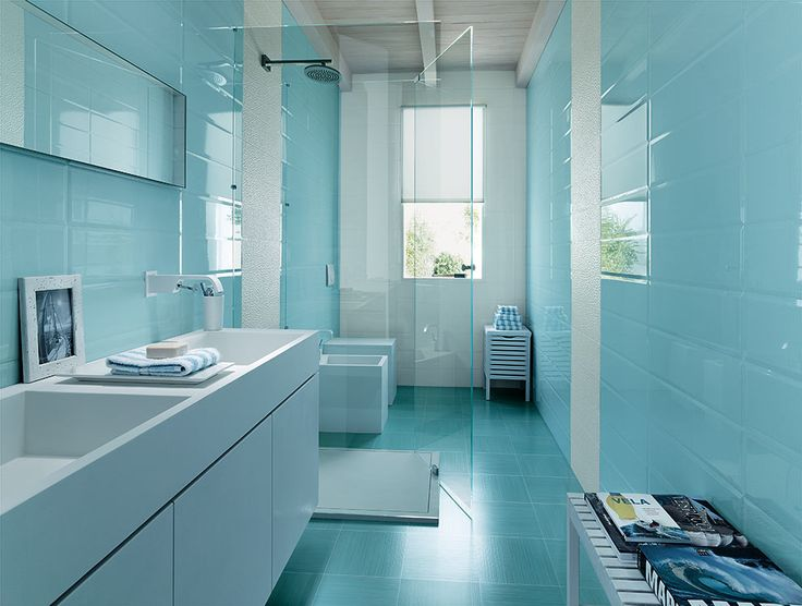 17 Best images about Badezimmer on Pinterest  Lace, Mosaics and Blue bathroom tiles