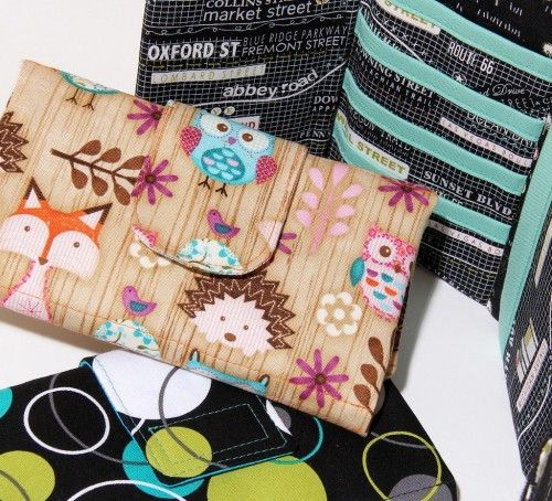 Modern Tri-fold Wallet - Ready-to-Print PDF Sewing Pattern from SusieDDesigns | PatternPile.com