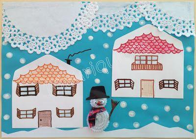 Mauriquices: Quando a neve cai... tudo fica branco!!!