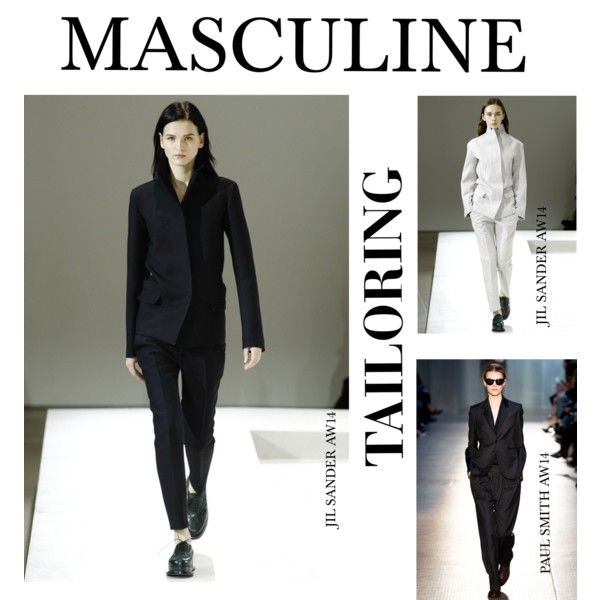 """MASCULINE TAILORING AW14"" by net-a-dresser on Polyvore"