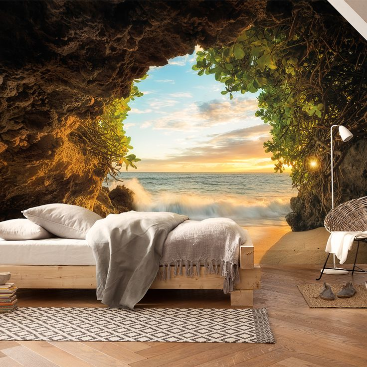 Hide+Out+Mural+|+368+x+254cm+|+Brown+by+Brewster+Home+Fashions+on+POP.COM.AU
