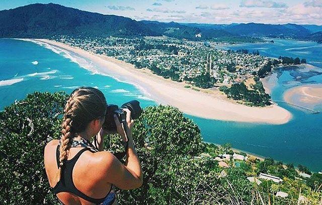 Looking over Pauanui from Paku Hill, Tairua - Coromandel, NZ  @lola_nz