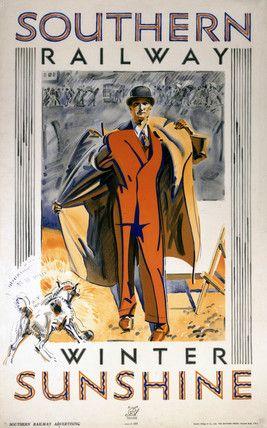 'Winter Sunshine', SR poster, 1932