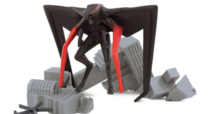 'Godzilla' Toys Offer First Look at Muto Monster -- An 8-legged winged beast will fight Godzilla in this reboot from director Gareth Edwards, in theaters this summer. -- http://www.movieweb.com/news/godzilla-toys-offer-first-look-at-muto-monster