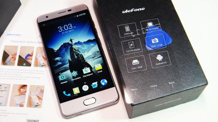 Бюджетный смарфтон UleFone U008 Pro из Китая | Распаковка, первое впечат...