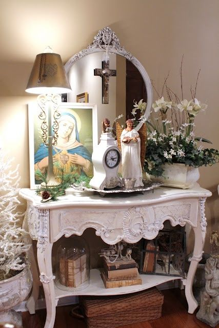 171 best images about a catholic prayer corner on pinterest icons home altar and catholic company - Home altar designs ...