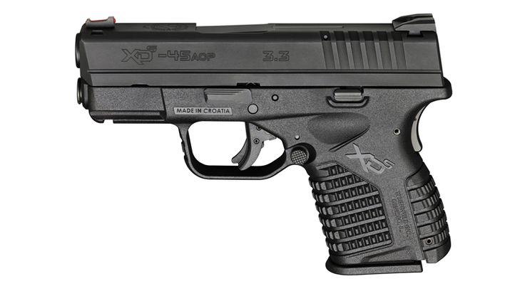 Gun Review - Springfield XDS .45 - by Valerie Tiffany   http://thewellarmedwoman.com/gun-reviews-by-women/handgun-reviews/semi-automatic-gun-reviews/springfield-armory/gun-review-by-women-springfield-xds-tiffany