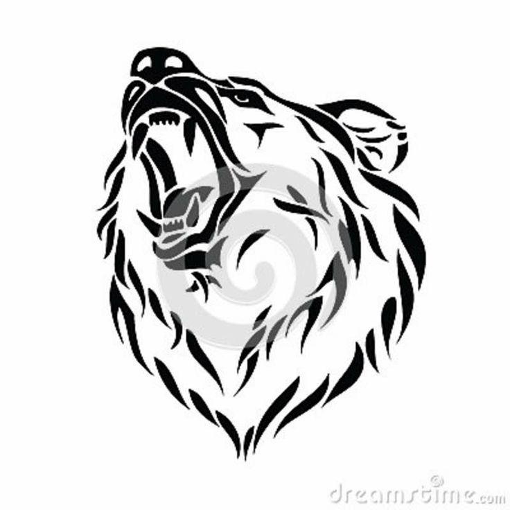 Grizzly Bear Head