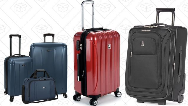 Travel Like a Pro With Amazons Huge One-Day Luggage Sale