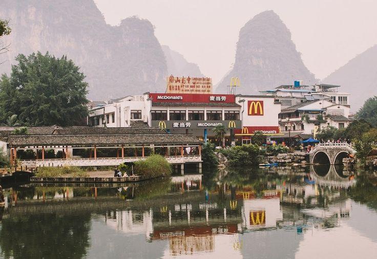 Exotic McDonald's in Yangshuo, China