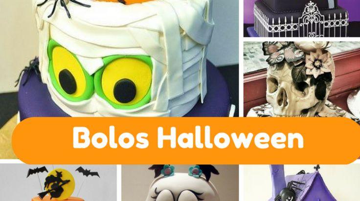 10 bolos Incríveis para o Halloween