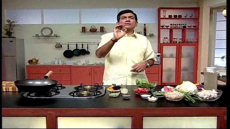 Sanjeev Kapoor's video on making clear vegetable soup