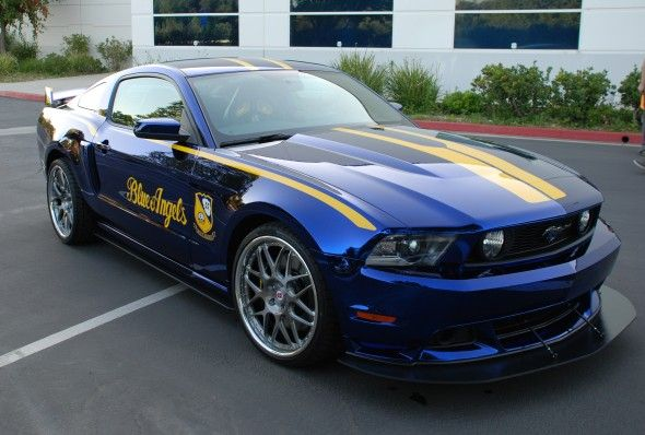 Ford Mustang Blue Angels Edition
