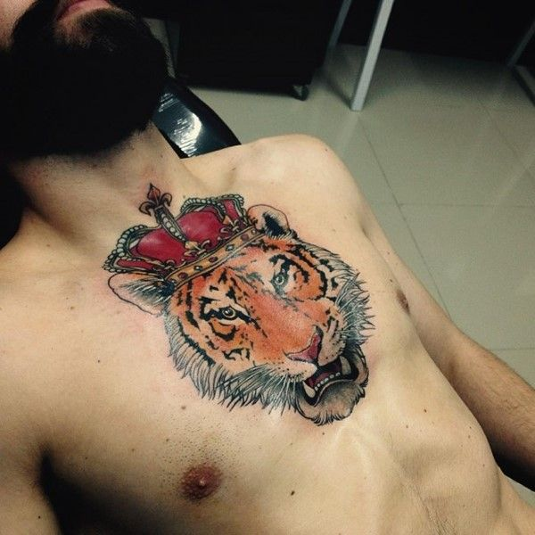 150+ Powerful Tiger Tattoo Designs And Meanings nice