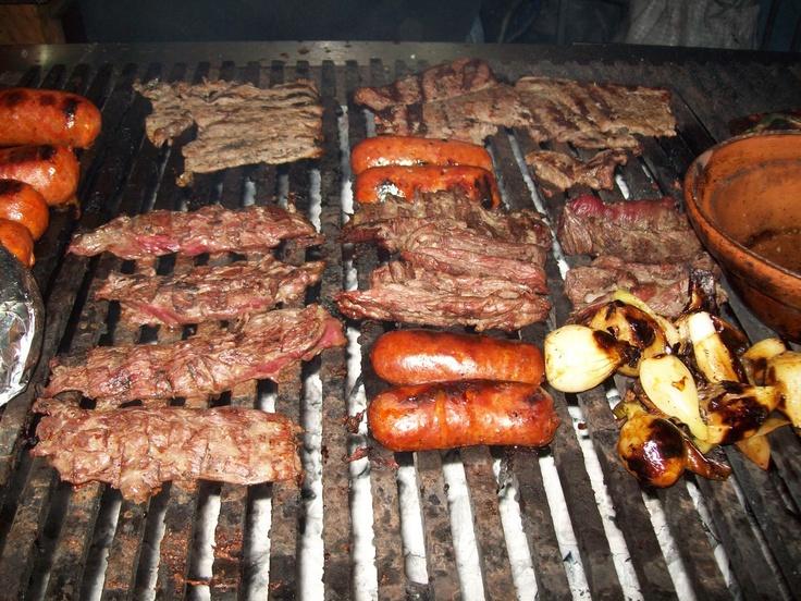 Parrillada (grilled meats)