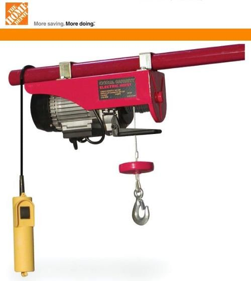 26 best lifts images on pinterest attic lift tools and for Small dc motor home depot