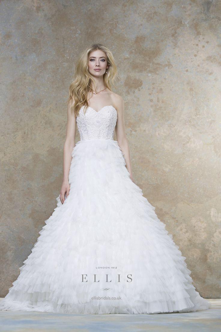 2016 Wedding Dress from Ellis Bridals Magnolia Bridal Collection itakeyou.co.uk #weddinggown #weddingdresses: