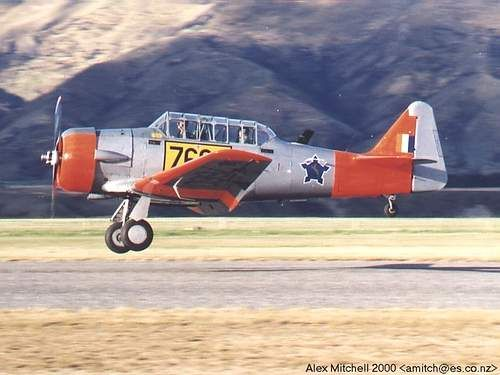 Harvard South African Air Force