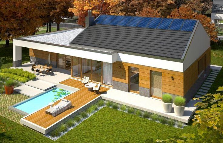 Projekt domu nowoczesnego EX 11 G2 (wersja D) MULTI-COMFORT