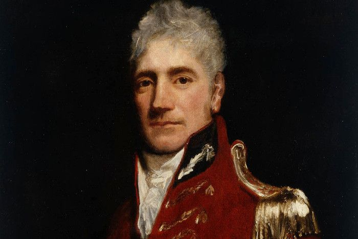 Lachlan Macquarie of Ulva,(near Mull) Born 1762, who became known as the Father of Australia. PIC Wilkipedia