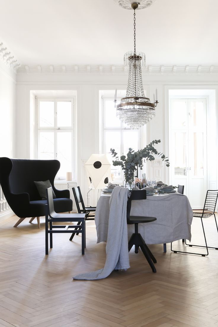 144 best dining room images on pinterest dining room dining valhallavagen apartment for eklund stockholm new york by anna leena karlsson interior stylistinterior designdining room