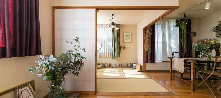 世田谷線の町に暮らす花とグリーンに満たされた自然を身近に感じる暮らし