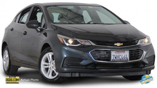 Hatchback, 2017 Chevrolet Cruze LT Hatchback with 4 Door in San Jose, CA (95136)