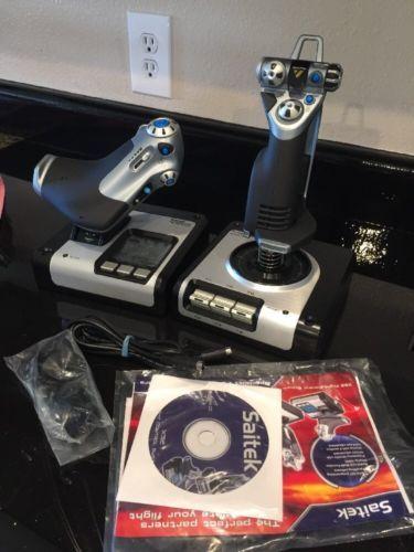 Saitek X52 Pro Game Controller Flight Control System Joystick Throttle Simulator: $74.99 End Date: Thursday Mar-22-2018 11:56:16 PDT Buy It…