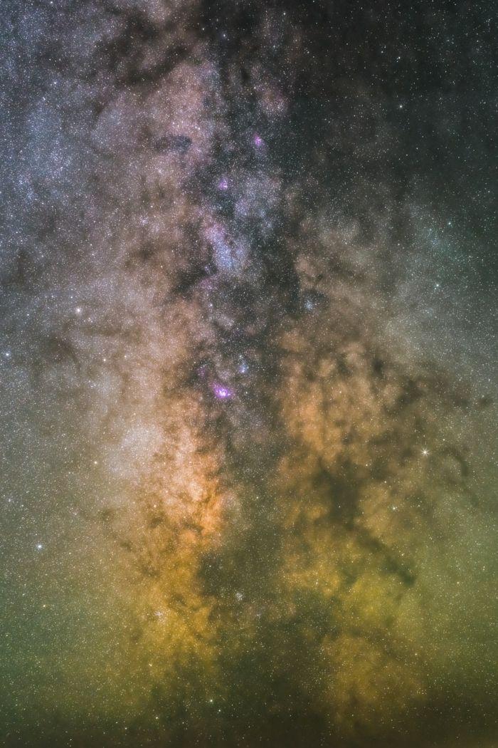 La Galassia Con Stelle Sfondi Più Belli Del Mondo Ispirazione In