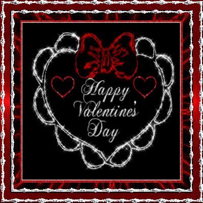 happy valentine flash animation