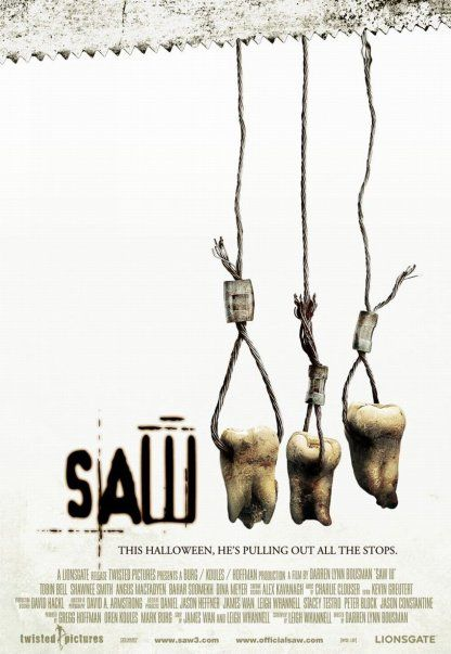 John's Horror Corner: Saw III (2006), proving that torture porn sequels can have good writing AND loads of lingering, gross, chunky gore! | Movies, Films & Flix